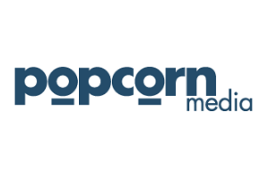 Logo Popcorn Media